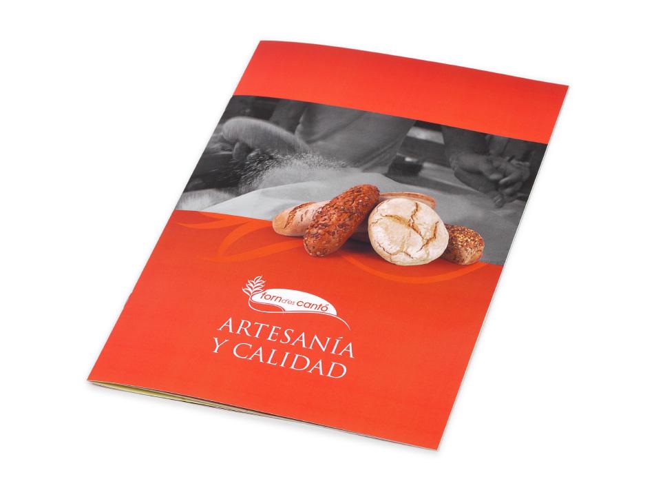 Dise o catalogos empresas productos alimentacion palma for Modelo de catalogo de productos